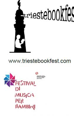 logo trieste book con festival bambini